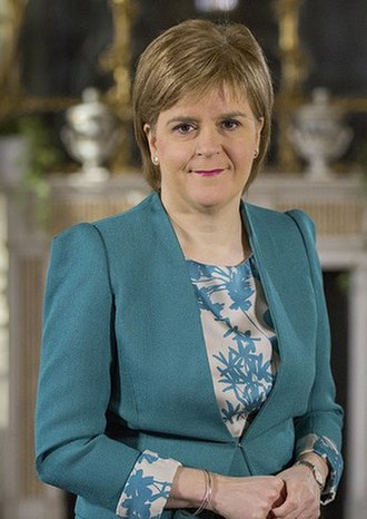 First Minister of Scotland - Image: Official portrait of Nicola Sturgeon