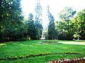 Ogród Strzelecki park w Tarnowie, ul. Piłsudskiego Słowackiego (-) 6 pavw..JPG