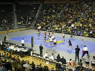 Michigan Wolverines women's volleyball - Michigan vs. Ohio State, 2011