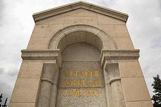 Oise-Aisne American Cemetery and Memorial - Image: Oise Aisne American Cemetery and Memorial 1