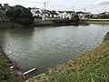 Oishigauraike Pond near Kashii-Kaenmae Station.jpg