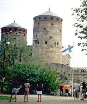 Savonlinna - Olavinlinna is a 15th-century three-tower castle.