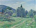Olive Trees in Afternoon at Cannes by Henri Lebasque.jpeg