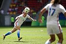 Olympic Games 2016 match between the women's teams of the United States - Sweden. 06.jpg