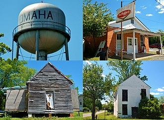 Omaha, Georgia - Image: Omaha, GA