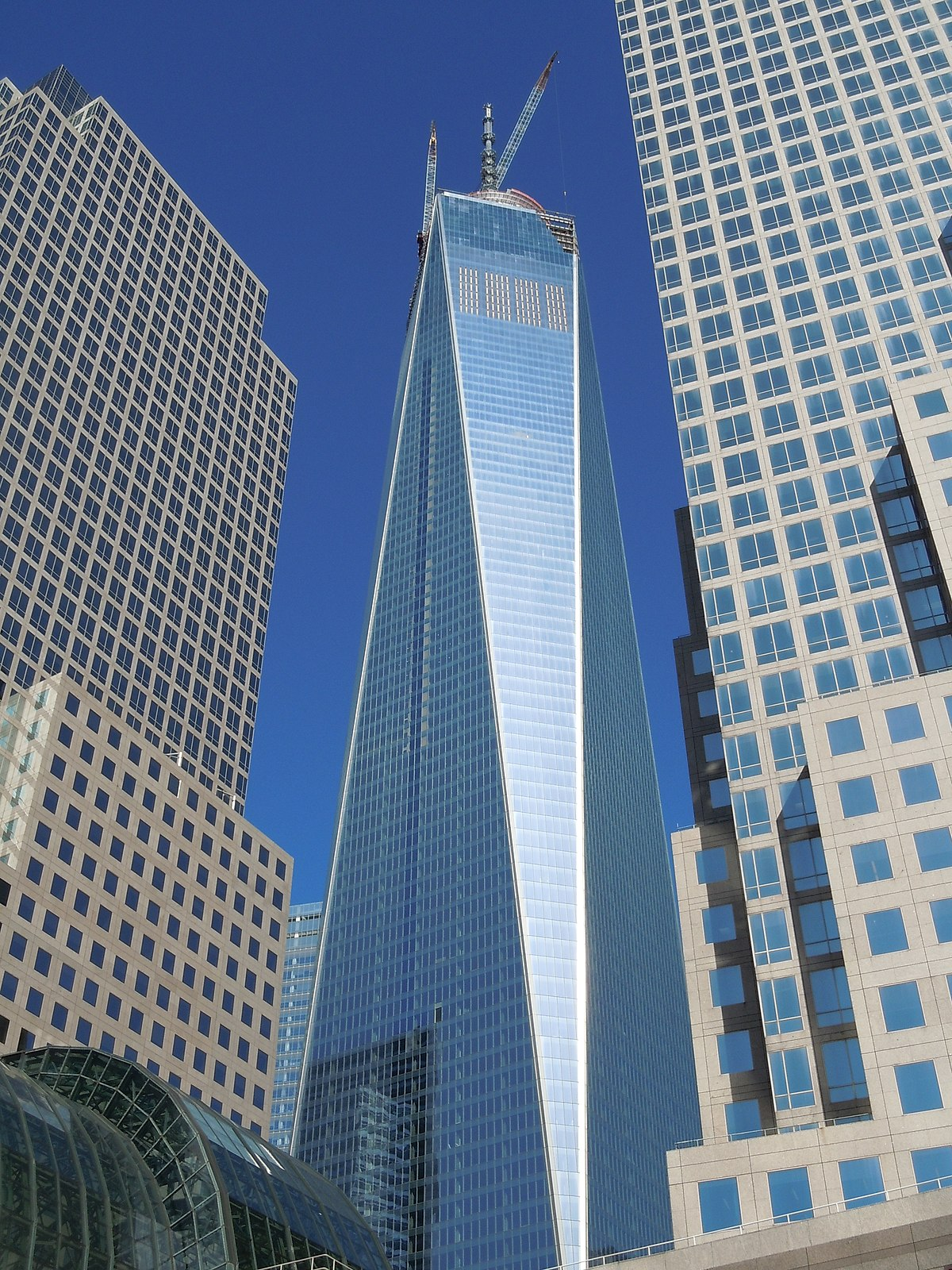 One world trade center wikipedia den frie encyklop di - Architekt one world trade center ...