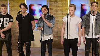 Only One Direction - Only One Direction singing Story Of My Life on ITV1's This Morning