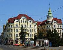 Oradea (Nagyvárad) - piaţa Unirii.JPG