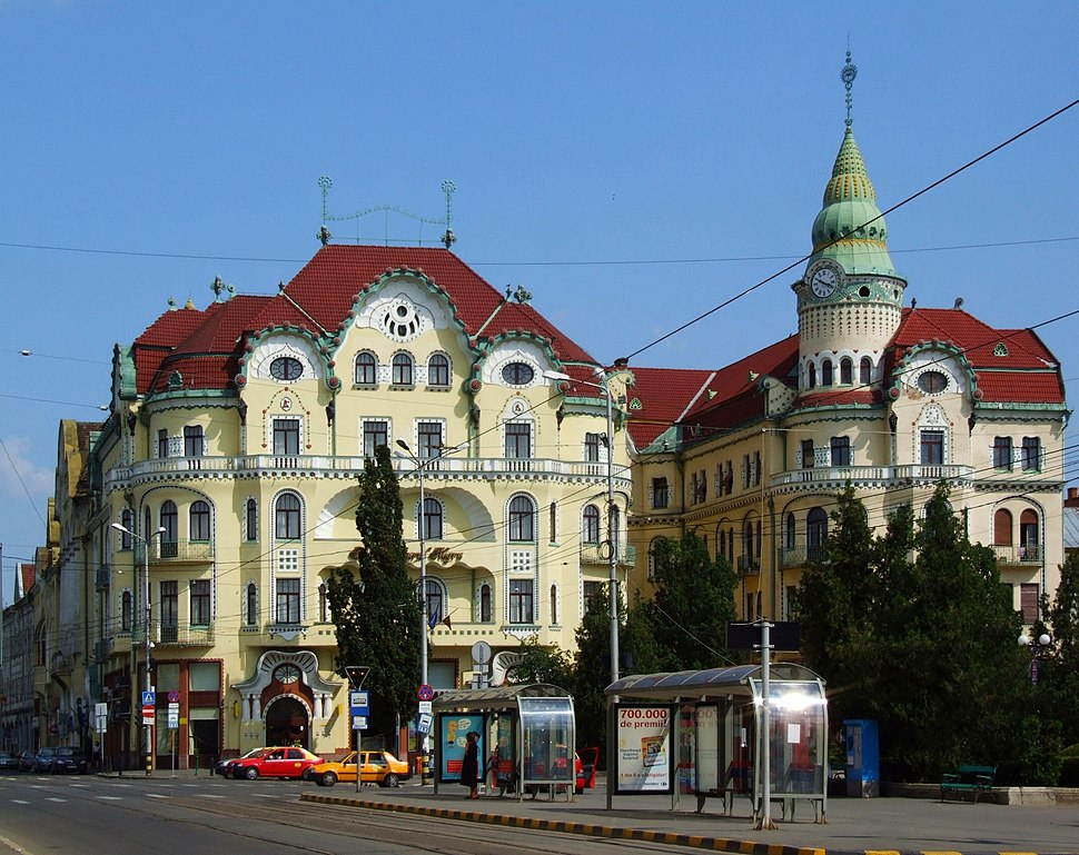 Oradea, capital of Bihor County