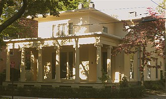 Orange Street Historic District - Image: Orange St.6