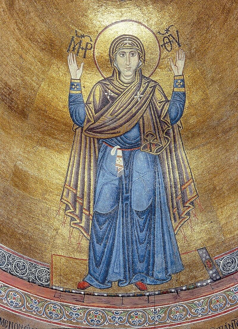 "Мозаїчна фреска ""Божа Матір Оранта"""