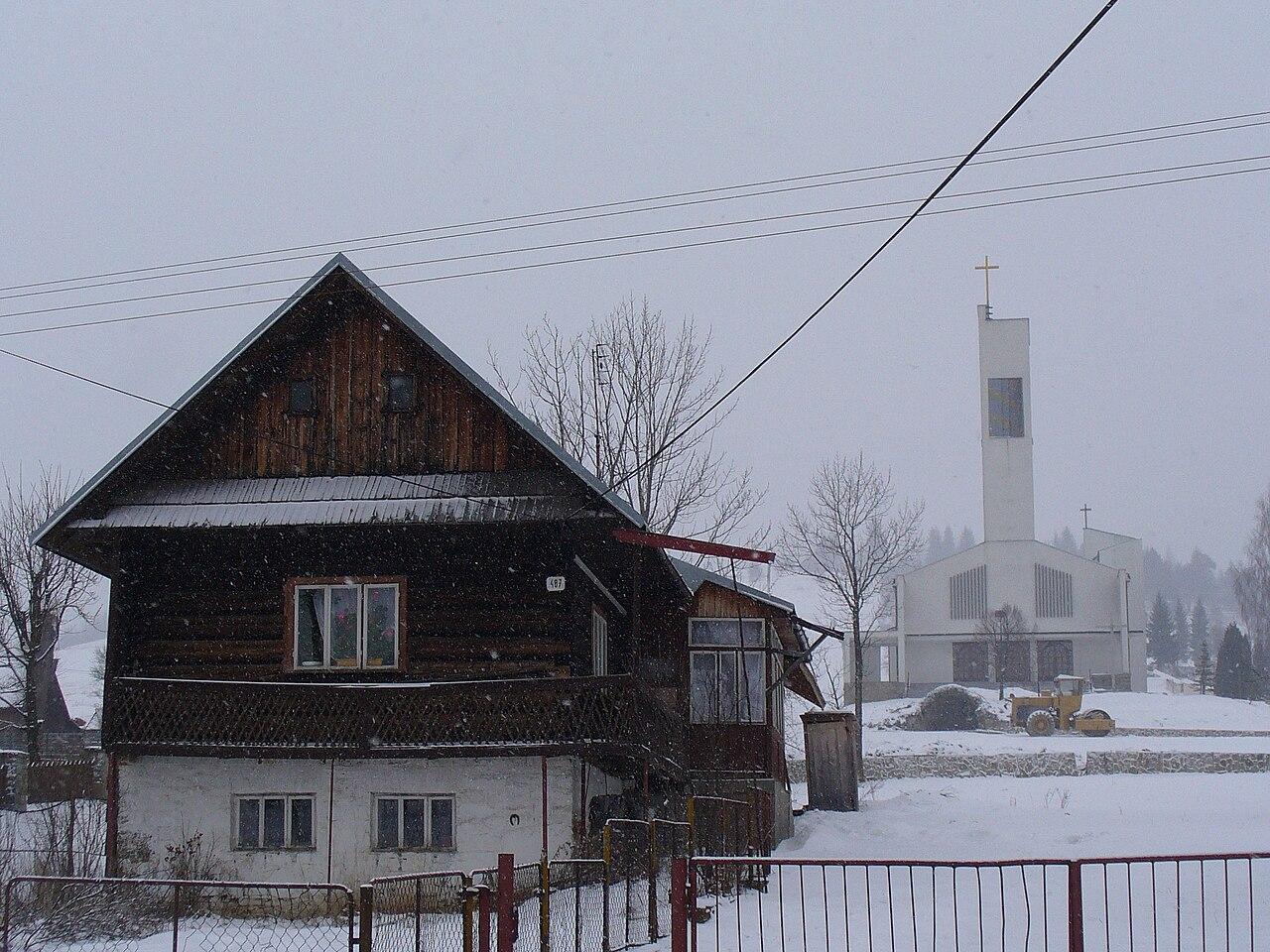 Orawska Półgóra - Oravska Polhora