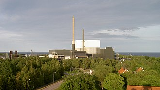 Nuclear power in Sweden - Image: Oskarshamns kärnkraftverk