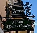 Osteria sign, Friulia-Venezia Giula, San Vito di Tagliamento Italy.jpg