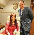 Othacehé y Cristina Kirchner.JPG