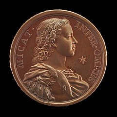 Prince Charles Edward Stuart, 1720-1788 (The Young Pretender, Bonnie Prince Charlie) [obverse]