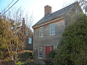 English: Owen Coachman House on NRHP since Sep...
