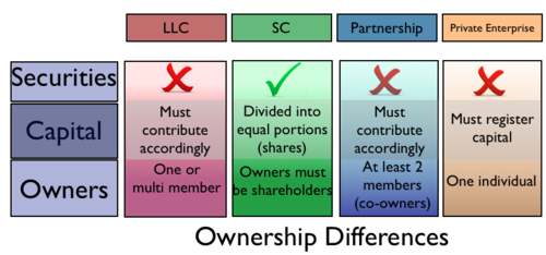 an overview of the different types of ownership in the business sector Estate types while all estates involve the ownership of real property, there are different types of estates, each of which means something else regarding the length of ownership and right to transfer or sell such property.