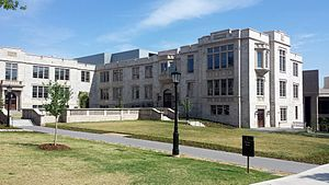 University of Arkansas Honors College - Honors College offices are housed in Gearhart Hall, formerly Ozark Hall