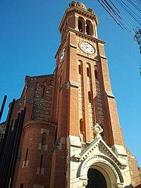 Pézilla-la-rivière - Clocher église.jpg