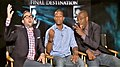 P. J. Byrne, Arlen Escarpeta, Courtney B. Vance on Dulce Osuna for Final Destination 5.jpg