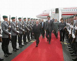 Lech Kaczyński w Niemczech