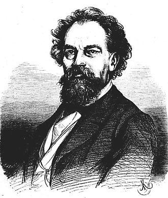 Ignacy Feliks Dobrzyński - Dobrzyński. Portrait by Juliusz Kossak, 1865.