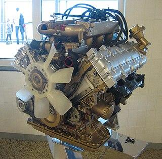 V6 PRV engine Motor vehicle engine
