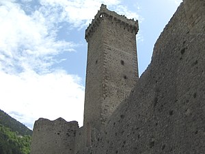 Pacentro - Caldora castle