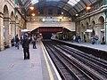 Paddington tube stn Circle District look anticlockwise.JPG