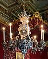 Palazzo colonna, sala del trono, lampadario settecentesco in cristallo di boemia.JPG
