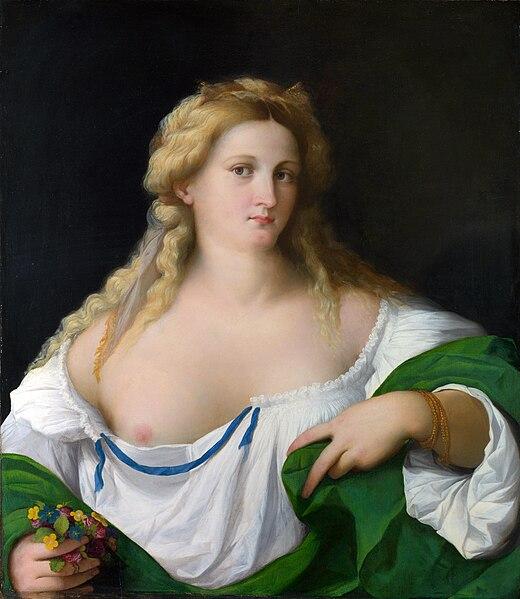 File:Palma il Vecchio - A Blonde Woman.jpg
