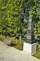 Památník obětem světových válek na náměstí, Bouzov, okres Olomouc.jpg