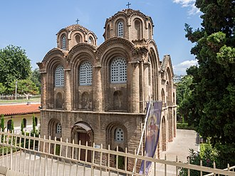 Church of Panagia Chalkeon - West view