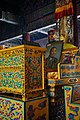 Panchen Lama's photo and throne at Lama Temple, Beijing - DSC06733.jpg