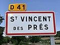 Panneau entrée St Vincent Prés Saône Loire 2.jpg