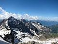 Panorama della cresta del Pizzo Scalino (3.323 m s.l.m.) Valmalenco, Sondrio, Lombardia, Italy. 2018-06-09.jpg