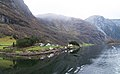 Panorama of Nærøyfjord - The world's most beautiful fjord (31219565074).jpg
