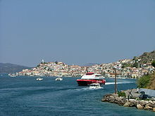Poros Greece Map.Poros Travel Guide At Wikivoyage