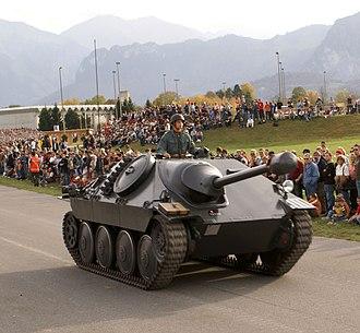 Hetzer - Swiss Army G-13
