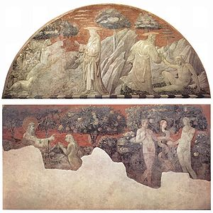 Creation of Adam, animals, and Eve, and the Original Sin