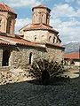 Paon et monastère Saint Naum Ohrid.JPG