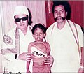 Pappa Subramanian elder SON Vetri Azhagan Pappa Subramanian with MGR.jpg