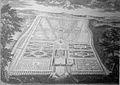 Parc de Louvois Le Bouteux in plan et élévation du Château de Louvois 1685 p91.jpg