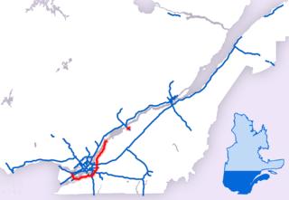 Quebec Autoroute 30 Highway in Quebec