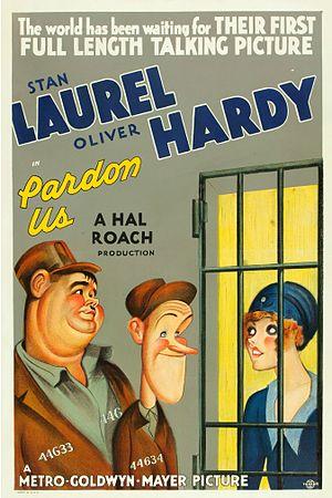 Pardon Us - Theatrical release poster
