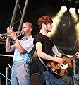 Parlor guitarist & Trumpeter, Summer Sundae 2007.jpg