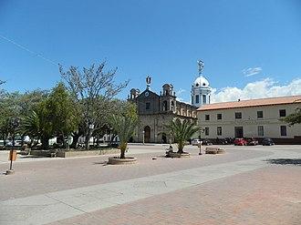 Soatá - Image: Parque Principal del Municipio de Soatá