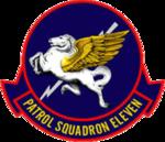 Patrol Squadron 11 (US Navy) insignia 1952.png