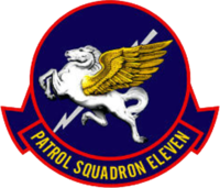 Patrol Squadron 11 (US Navy) insignia 1952.png
